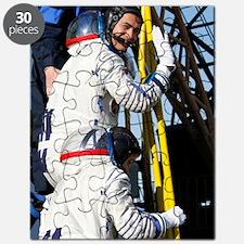 Soyuz TMA-11 space crew Puzzle