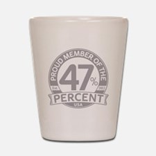 Member 47 Percent Shot Glass
