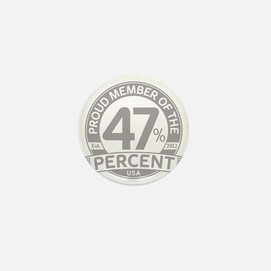 Member 47 Percent Mini Button