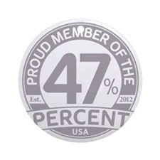 Member 47 Percent Round Ornament