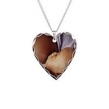 Baby boy breastfeeding Necklace