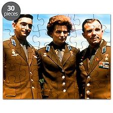 Soviet cosmonauts Puzzle