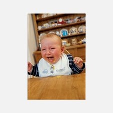 Baby boy crying Rectangle Magnet