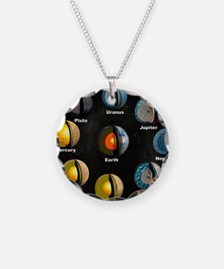 Planets' internal structures Necklace