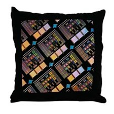 Production of integrated circuits Throw Pillow