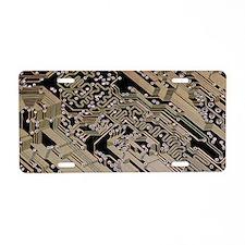 Printed circuit board, comp Aluminum License Plate
