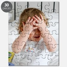 Baby boy playing Puzzle