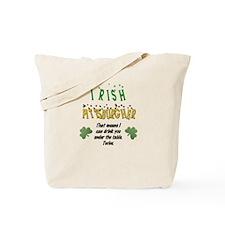Irish Pittsburgher Tote Bag