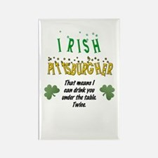 Irish Pittsburgher Rectangle Magnet