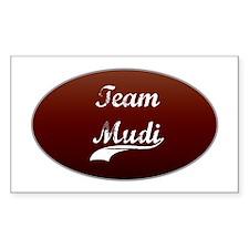 Team Mudi Rectangle Decal