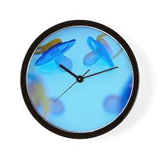 Baby's dummies Wall Clock