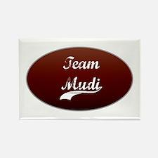 Team Mudi Rectangle Magnet (100 pack)