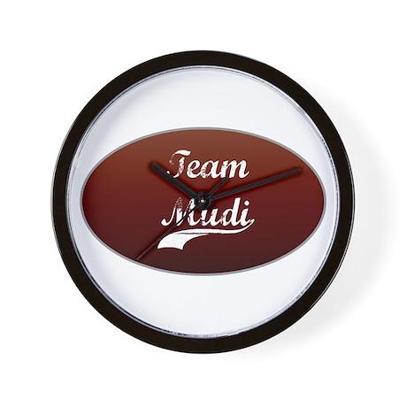 Team Mudi Wall Clock