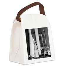 Soviet rocketry museum, 1959 Canvas Lunch Bag
