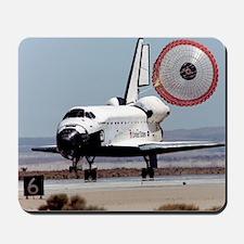 Space shuttle landing Mousepad
