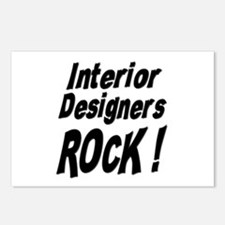 Interior Designers Rock ! Postcards (Package of 8)