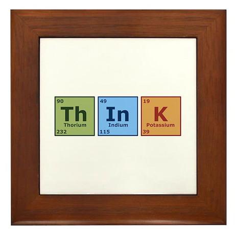 Think 2 Framed Tile