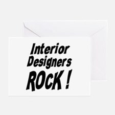 Interior Designers Rock ! Greeting Cards (Package