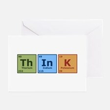 Think 2 Greeting Cards (Pk of 10)