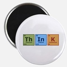 """Think 2 2.25"""" Magnet (10 pack)"""