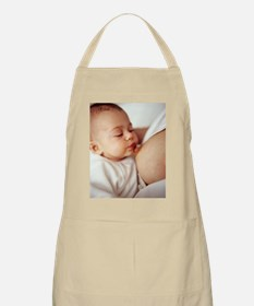 Baby girl breastfeeding Apron