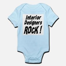 Interior Designers Rock ! Infant Bodysuit