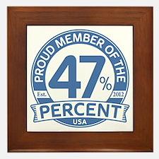 Member 47 Percent Framed Tile