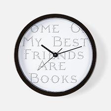 Best Friends Books Wall Clock