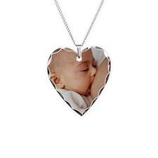 Baby girl breastfeeding Necklace
