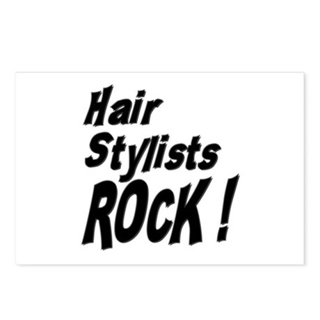 Hair Stylists Rock ! Postcards (Package of 8)
