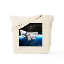 SpaceShipOne above Earth Tote Bag