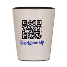 QuickDraw WP QR Logo Shot Glass