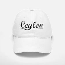 Ceylon, Vintage Baseball Baseball Cap