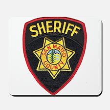 San Mateo Sheriff Mousepad