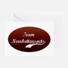 Team Norrbottenspets Greeting Cards (Pk of 10)