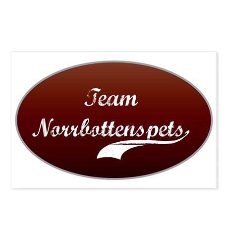Team Norrbottenspets Postcards (Package of 8)