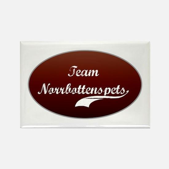 Team Norrbottenspets Rectangle Magnet (100 pack)