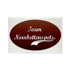 Team Norrbottenspets Rectangle Magnet