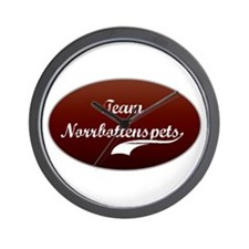 Team Norrbottenspets Wall Clock