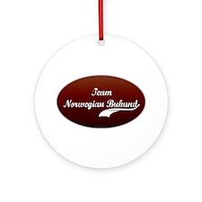 Team Buhund Ornament (Round)