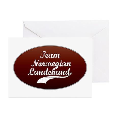 Team Lundehund Greeting Cards (Pk of 10)