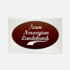 Team Lundehund Rectangle Magnet (100 pack)