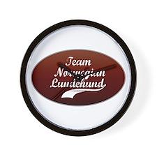 Team Lundehund Wall Clock