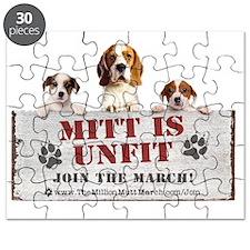 Rectangle Magnet- Mitt is Unfit Puzzle
