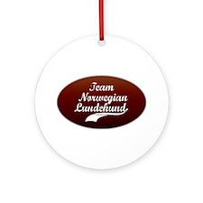 Team Lundehund Ornament (Round)