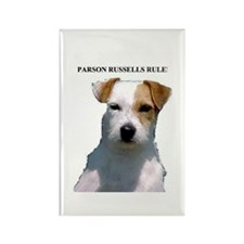 Parson Russell Terrier Rectangle Magnet (100 pack