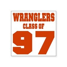 "WMHS Class Of 1997 Square Sticker 3"" x 3"""