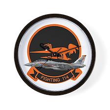 F-14 Tomcat VF-114 Aardvarks Wall Clock