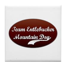 Team Entlebucher Tile Coaster