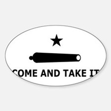Come And Take It Oval Decal
